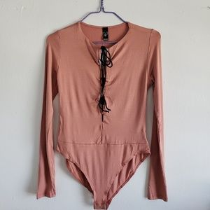 Windsor- pink bodysuit